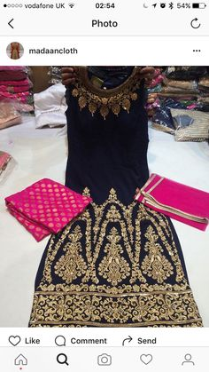 Designer Punjabi Suits, Indian Designer Wear, Salwar Designs, Saree Blouse Designs, Indian Party Wear, Indian Wear, Patiala, Salwar Kameez, Lovely Dresses