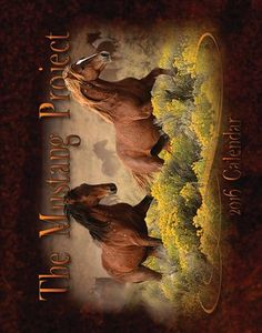 Calendars: The Mustang Project 2016, $21.36 from MagCloud