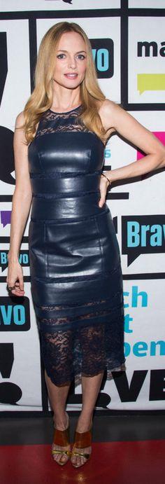 Heather Graham: Dress – Sachin & Babi  Shoes – Giuseppe Zanotti