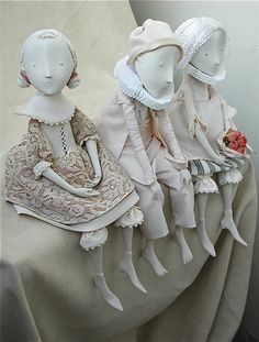 Sculpture, Clay in People, Character, Doll, figure, Porcelain, Porcelain art dolls - Image #160811