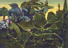 Nature at Dawn (La Nature À L'aurore), Max Ernst