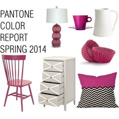 Pantone 2014 spring colours - our Paint Couture! French Polynesian Pink works!