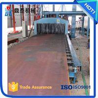 Bridge building steel plate surface sand blasting machine, bridge deck cleaning…