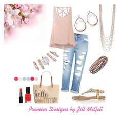 "Rose Gold Is In The Air! Premier Designs Jewelry Featuring: ""Julia"" earrings, ""Sun-Kissed"" necklace, ""Rosie"" bracelet set & ""Sienna"" ring set. Facebook: Emily Griggs"