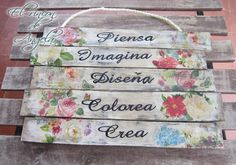 How to decore a tray with decoupage and distressed paint Decoupage Vintage, Decoupage Art, Ideas Decoupage, Home Crafts, Diy Home Decor, Diy And Crafts, Arte Pallet, Altered Art, Wood Signs