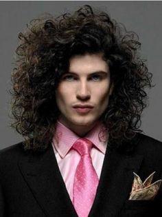 mens-haircuts-thick-curly-hair-boys-long-hairstyles-for-curly-hair. Thick Curly Hair, Curls For Long Hair, Short Curly Hair, Long Hair Cuts, Curly Hairstyles For Boys, Guy Haircuts Long, 2015 Hairstyles, Men's Haircuts, Black Hairstyles