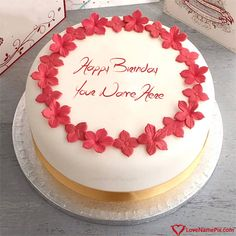 Create Best Happy Birthday Cake Pictures With Name Photo On Online Generator Editing Options And Send Wishes