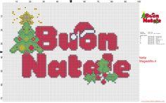 Buon Natale scritta semplice