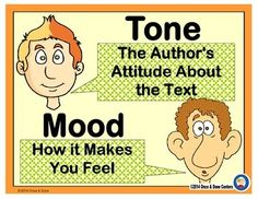 Tone, Mood Center Activity for small groups or independent work during guided reading. Students read a paragraph and choose the tone on the recording sheet, then record how the passage made them feel.  Tone and Mood Center Activity includes:  Cover sheet 2 Task Pages Recording Sheet Answer key Instructions on how to assemble the center  This is a hard concept.