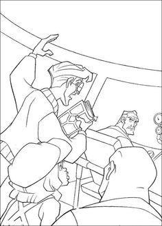 Atlantis Ausmalbilder. Malvorlagen Zeichnung druckbare nº 10
