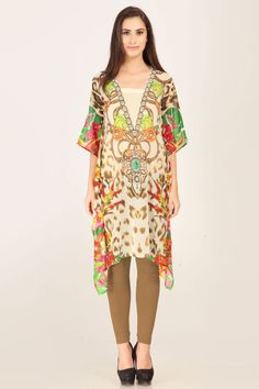 #kaftan #fusion #ethinicwear #caftan #tunic #digitalprint #discount Shop Now: www.admyrin.com