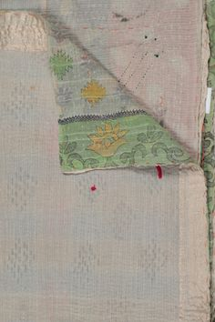 One of a Kind Kantha Throw