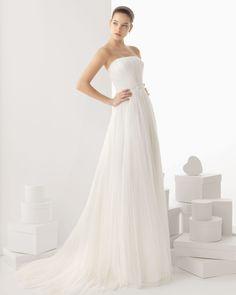 236 Carla - Vestido de Noiva - Rosa Clará