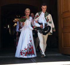 Image result for góralskie sukienki ślubne