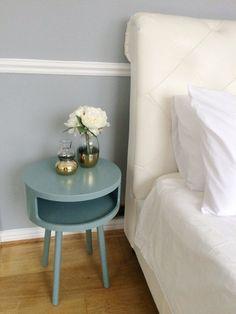 Image result for habitat blue round bedside table