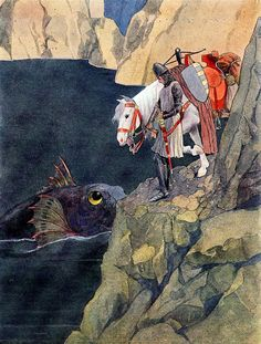 """From """"Fairy Tales Of Božena Němcová"""" illustrated by Artuš Scheiner"""