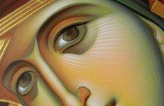 Orthodox icons process images but in Russian. Byzantine Icons, Byzantine Art, Greek Icons, John Chrysostom, Art Icon, Orthodox Icons, Religious Art, Virgin Mary, Madonna
