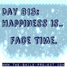 Check out  www.the-smile-project.com for more happy thoughts and quotes!