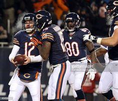 Chicago Bears quarterback Josh McCown celebrates his touchdown run in the  second quarter against the Dallas bebfee8cf