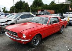 1965 FORD MUSTANG VIN: 5F07C673247