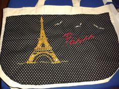 bolsa customizada Paris