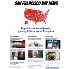 San Francisco Bay News   Dirt Road DesignThis is an aggregation site featuring headlines from the bay area plus national and world stories. This site was designed to mimic the Drudge Report. Our staff updates this site daily 7 days a week. No, we do not sleep much. But it's worth it!