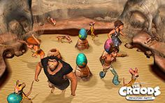 THE CROODS PREHISTORIC PARTY THE VIDEO GAME - LAUNCH TRAILER - FR - 3DS DS WII WII U