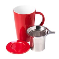 Pao Infuser Mug in Red #whittards #tea #infuse £15