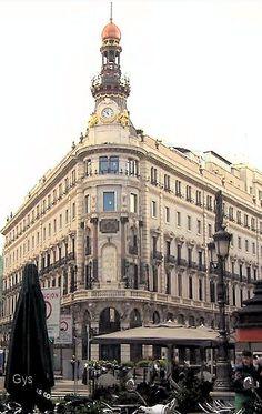 Equitativa Building, 14 Alcalá Street, Madrid, Spain