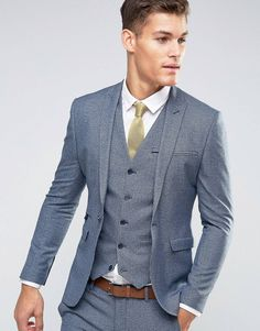 LOVE this from ASOS! #menweddingsuits