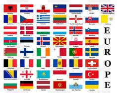 Find List All European Country Flags stock images in HD and millions of other royalty-free stock photos, illustrations and vectors in the Shutterstock collection. Thousands of new, high-quality pictures added every day.