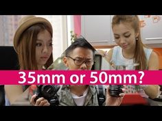 35mm vs 50mm - Best First Prime Lens?   Published on Sep 8, 2014 We've given you 5 reasons why you should own a 50mm lens(http://bit.ly/Prime-50mm) and 5 reasons why you should own a 35mm(http://bit.ly/Prime-35mm) - they're both good choices for your first prime lens. Choosing your first prime lens is like choosing your first love, we all know how that feels when you make the wrong choice. So which lens should you buy?