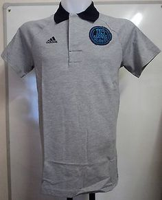Real madrid 2012 13  authentic polo shirt by adidas  adults size  large a9fecd91a43