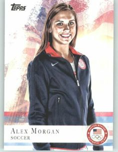 2012 Topps U.S. Olympic Team #90 Alex Morgan - Soccer (London Olympics Team USA Collectible) (Baseball Cards) by Topps. $1.50. Alex Morgan - Soccer