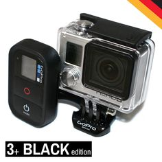 NEU GoPro HD HERO 3+ HERO3 Plus Camcorder BLACK edition 12MP Kamera remote Wi-Fi