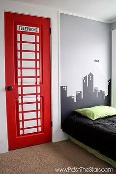 10+decorações+quarto+meninos+-+porta+cabine+telefônica.jpg (383×575)