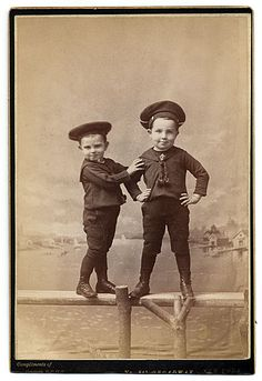 Citation: Walter and Alfred Pach as young boys, ca. 1888 / Pach Brothers, photographer. Walter Pach papers, Archives of American Art, Smithsonian Institution.