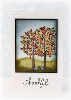 Peppermint Patty's Papercraft: Thankful to have you as friends! - Small woodland creatures!