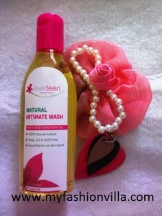 Everteen Natural Intimate Wash is scientifically designed to promote Body's natural vaginal balance and maintain complete vaginal hygiene. Daily use of everteen helps in preventing infection and gives relief from consistent itching or burning in vaginal area. It says, it is an Ayurvedic Product for external use only.