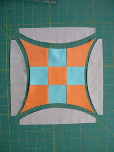Curve Nine Patch Tutorial. Traditionally called Improved Nine Patch. Introduced in 1933 in the Chicago Tribune.