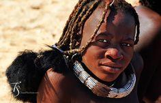 Himba girl. Photos by T+S: Serra Cafema, Kaokoland | Luxury Hotels Travel+Style