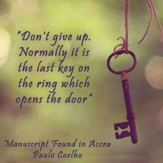 Last key