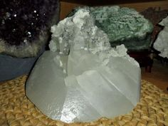Beautiful Crystal Calcite Cluster.
