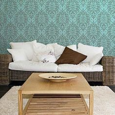 Decorating with Indian Designs and Wall Stencils - Royal Design Studio