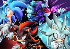 """""""The Three Musketeers plus Mephiles, how's that?"""" Mephiles shook his head. """"You're trying too hard in my favor, Silver..."""" """"Why not? Just because Sonic doesn't like you doesn't mean I have to not like you."""" Mephiles sighed, if only the kid knew what he'd done... what Sonic hated him for."""