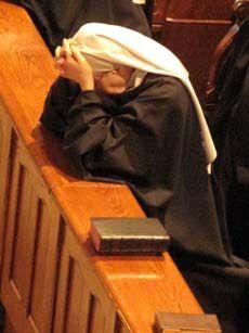 Benedictine nuns.
