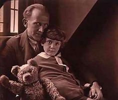Christopher Robin and the real Winnie the Pooh