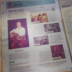 Na coluna de hoje começo a mostrar quais são as bandas concorrentes no @fuccablumenau e também falo do show que a cantora Giana Cervi faz en Itajaí quinta-feira no Teatro Municipal. #fucca #musica #cultura #blumenau #itajai #jornalismo