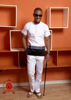 Happy New Year dear readers! Welcome to Believe it or not, most Nigerian men have some of the latest senator wears designs in their wardrobe. African Wear Styles For Men, African Dresses Men, African Clothing For Men, African Shirts, African Attire, African Inspired Fashion, African Print Fashion, Africa Fashion, Yomi Casual