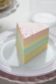 A slice of rainbow cheesecake | Flickr – Condivisione di foto!